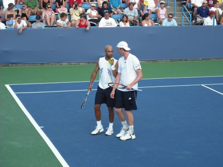James Blake & Sam Querrey Communicating