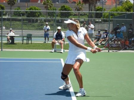 Nadia Petrova Backhand
